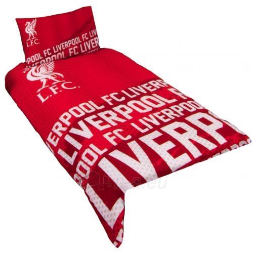 Liverpool F.C. patalynės komplektas (Raudonas-logotipai) Paveikslėlis 1 iš 4 251009001135