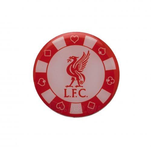 Liverpool F.C. prisegamas ženklelis - pokerio žetonas Paveikslėlis 2 iš 3 310820060844