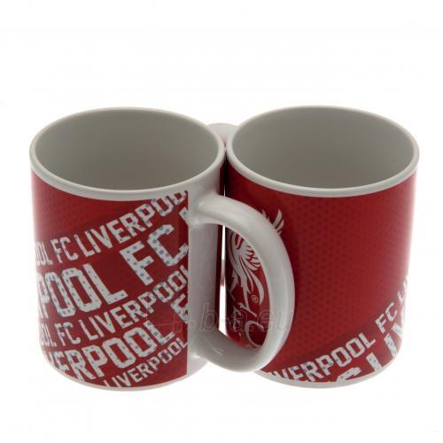Liverpool F.C. puodelis (Baltas su logotipais) Paveikslėlis 1 iš 6 251009001136