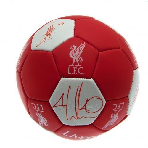 Liverpool F.C. treniruočių kamuolys (Nuskin) Paveikslėlis 4 iš 4 251009001558