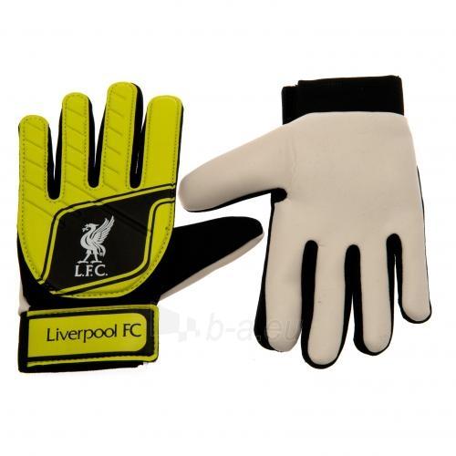 Liverpool F.C. vaikiškos vartininko pirštinės (Geltonos) Paveikslėlis 1 iš 4 251009001079