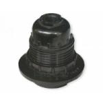 Lizdas lempai E27, pakabinamas, karbolitinis, su žiedeliu, juodas, H10RP Paveikslėlis 1 iš 1 223805000036