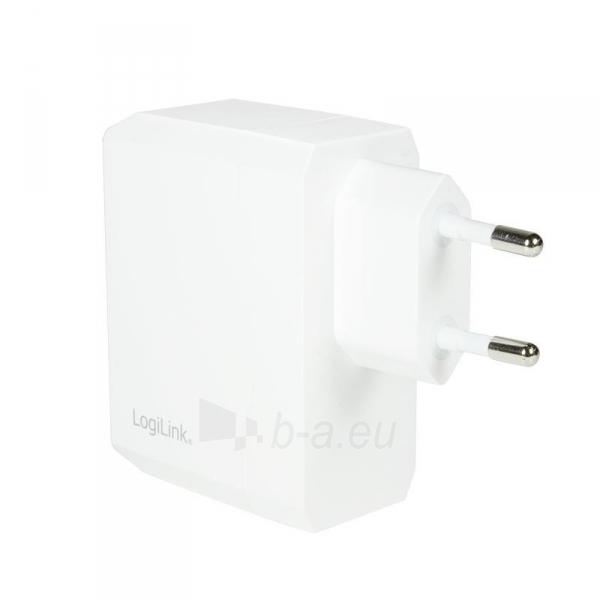 LOGILINK- Universal Wall Charger, 2x USB Ports 17 W Paveikslėlis 2 iš 6 310820011632