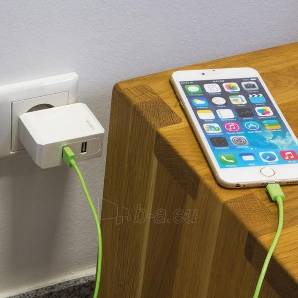 LOGILINK- Universal Wall Charger, 2x USB Ports 17 W Paveikslėlis 4 iš 6 310820011632