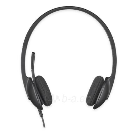 Logitech Headset H340, USB, Black Paveikslėlis 1 iš 1 250255090209