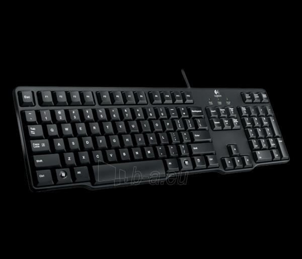Logitech Keyboard K100 - RUS Paveikslėlis 1 iš 1 310820001812