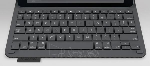 Logitech Type+ Keyboard, Black Paveikslėlis 2 iš 2 250255701194