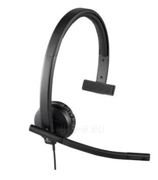 Logitech USB Headset H570e Mono Paveikslėlis 2 iš 6 250255090778