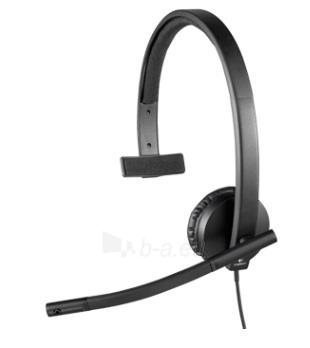 Logitech USB Headset H570e Mono Paveikslėlis 3 iš 6 250255090778
