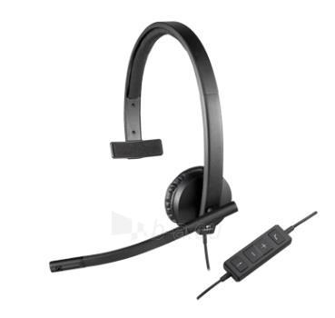 Logitech USB Headset H570e Mono Paveikslėlis 5 iš 6 250255090778