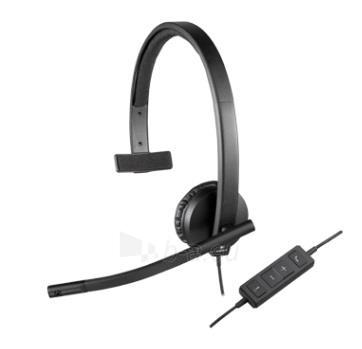 Logitech USB Headset H570e Mono Paveikslėlis 6 iš 6 250255090778
