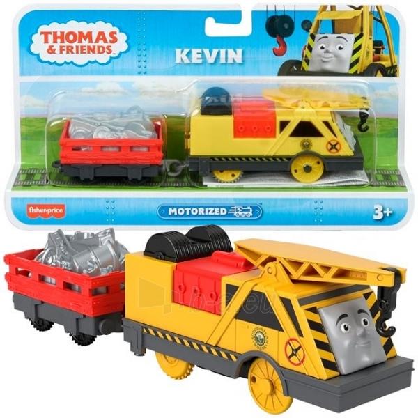 Lokomotyvas GJX82 / BMK88 Thomas & Friends KEVIN, TrackMaster FISHER-PRICE Paveikslėlis 1 iš 1 310820230575