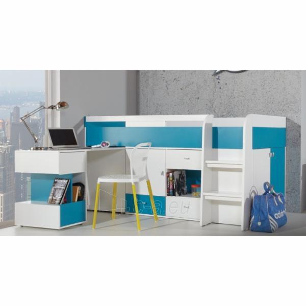 Lova su darbo stalu Mobi MO21 Paveikslėlis 2 iš 3 310820100170
