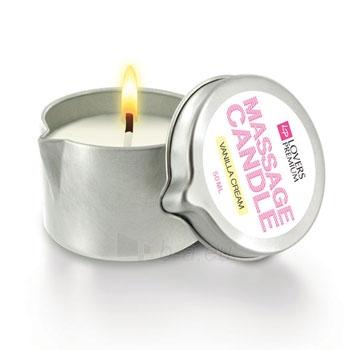 Žvakė LoversPremium Massage Candle Paveikslėlis 1 iš 1 2514100000200