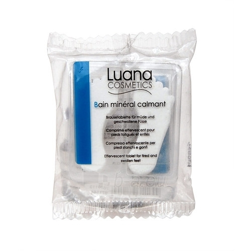 Luana Cosmetics Mineral Calming Bath For Tired Feet Cosmetic 22g Paveikslėlis 1 iš 1 250850500045