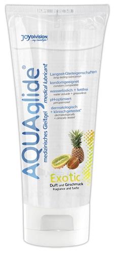 Lubrikantas AQUAglide Exotic exotinis 100 ml Paveikslėlis 1 iš 1 310820021905