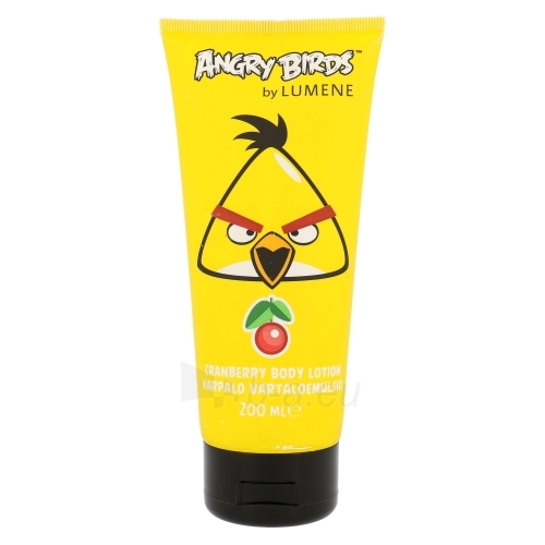 Lumene Angry Birds Cranberry Body Lotion Cosmetic 200ml Paveikslėlis 1 iš 1 250850200888