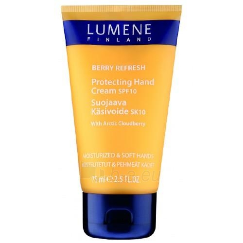 Lumene Berry Refresh Cloudberry SPF 10 (Protecting Hand Cream With Arctic Cloudberry) 75 ml Paveikslėlis 1 iš 1 250850400157