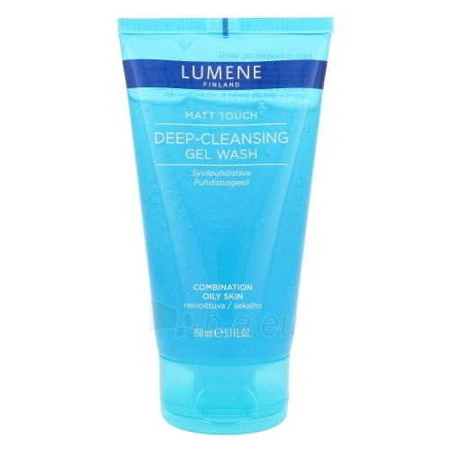 Lumene Matt Touch Deep-Cleansing Gel Wash Cosmetic 150ml Paveikslėlis 1 iš 1 310820024071