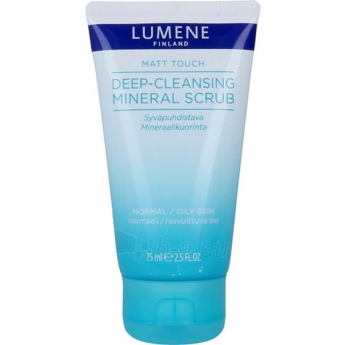 Lumene Matt Touch Deep-Cleansing Mineral Scrub Cosmetic 75ml Paveikslėlis 1 iš 1 310820043302