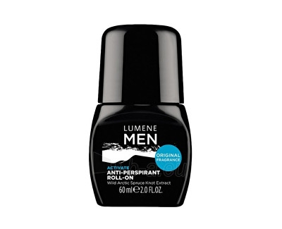 Lumene Men Activate Anti-Perspirant Roll-On Cosmetic 60ml Paveikslėlis 1 iš 1 310820011401