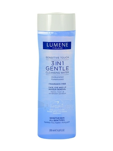 Lumene Sensitive Touch 3in1 Gentle Cleansing Water Cosmetic 200ml Paveikslėlis 1 iš 1 250840701025