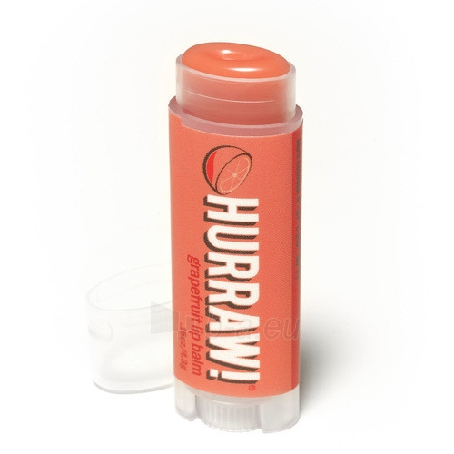 Lūpų balzamas Hurraw! (Grapefruit Lip Balm) 4,3 g Paveikslėlis 1 iš 1 310820048960
