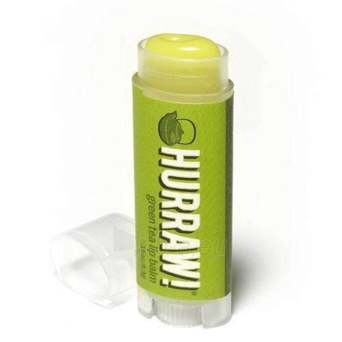 Lūpų balzamas Hurraw! (Green Tea Lip Balm) 4,3 g Paveikslėlis 1 iš 1 310820048959