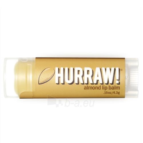 Lūpų balzamas Hurraw! Almond Lip Balm 4,3 g Paveikslėlis 1 iš 1 310820048950