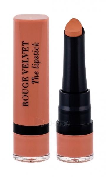 Lūpų dažai BOURJOIS Paris Rouge Velvet 01 Hey Nude! The Lipstick Lipstick 2,4g Paveikslėlis 1 iš 2 310820156041