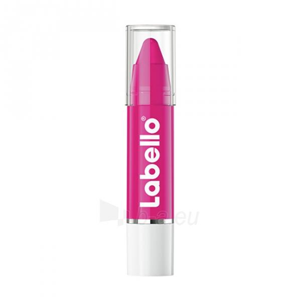 Lūpų dažai Labello Crayon Hot Pink ( Caring Lip Balm) 3 g Paveikslėlis 3 iš 5 310820174286