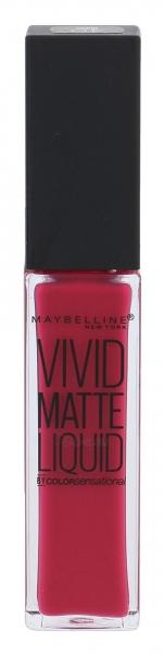 Lūpų dažai Maybelline Color Sensational 40 Berry Boost Vivid Matte Liquid Lipstick 8ml Paveikslėlis 1 iš 2 310820155691