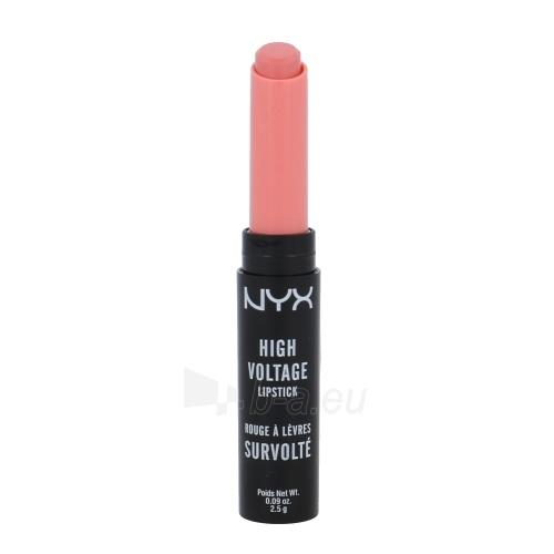 Lūpų dažai NYX High Voltage Lipstick Cosmetic 2,5g Shade 11 French Kiss Paveikslėlis 1 iš 1 310820063044