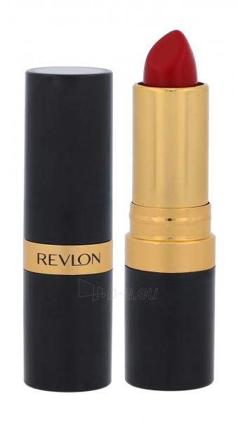 Lūpų dažai Revlon Super Lustrous 740 Certainly Red Creme Lipstick 4,2g Paveikslėlis 2 iš 4 310820175327