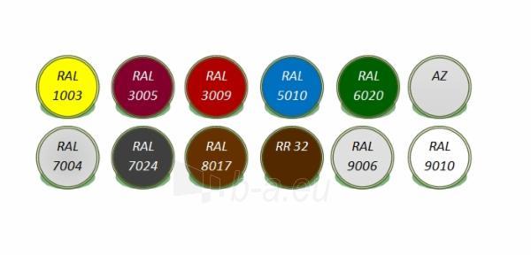 Lygi skarda rulonais 25 m2 (poliesteris) spalvota Paveikslėlis 2 iš 2 310820038431