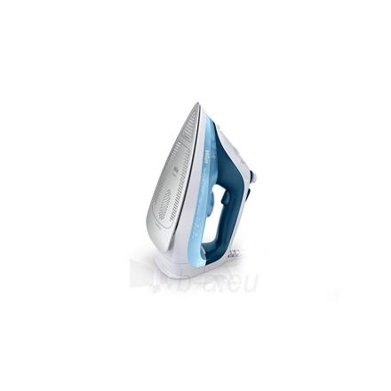Lygintuvas Braun SI 7062 Blue, 2600 W, Steam Iron, Continuous steam 50 g/min, Steam boost performance 225 g/min, Anti-drip function, Anti-scale system, Vertical steam function, Water tank capacity 300 ml Paveikslėlis 2 iš 3 310820221534