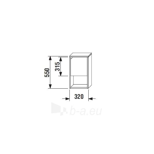 Lyra plus maža cabinet, white, dešininė Paveikslėlis 4 iš 4 30057400002