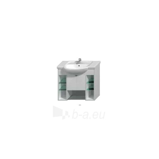 Lyra plus spintelė praustuvui 80cm, balta Paveikslėlis 1 iš 3 30057400008