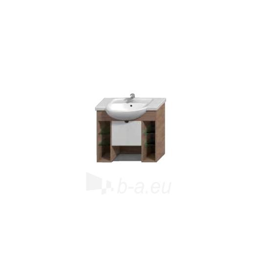 Lyra plus cabinet vanity 80cm, white Paveikslėlis 3 iš 3 30057400008