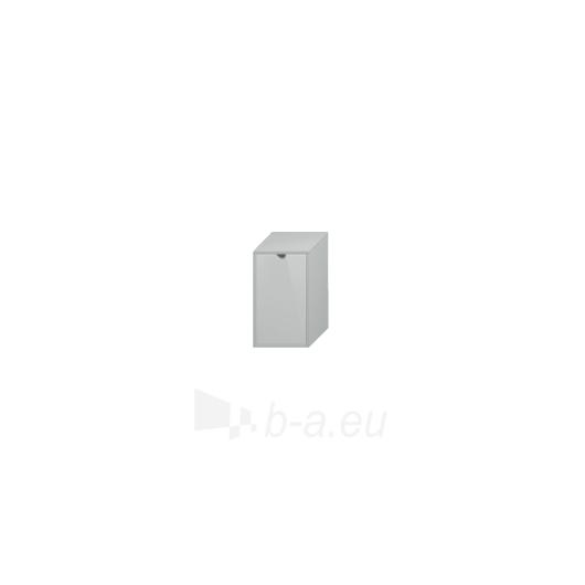 Lyra plus spintelė su skalbinių krepšiu, balta Paveikslėlis 1 iš 3 30057400009