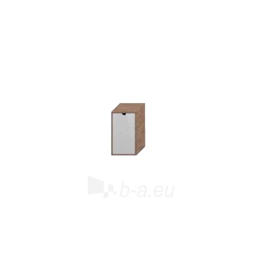 Lyra plus spintelė su skalbinių krepšiu, balta Paveikslėlis 3 iš 3 30057400009