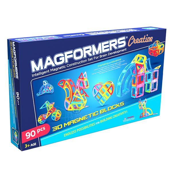 MAGFORMERS Creative set 90 Paveikslėlis 1 iš 5 30005401706