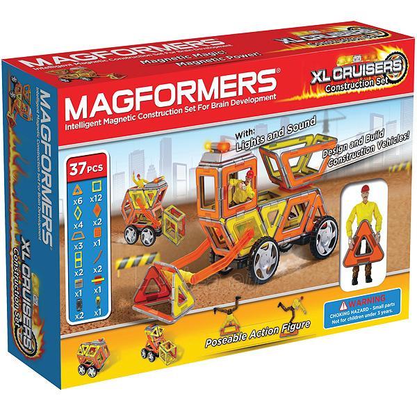 MAGFORMERS Cruisers Construction set XL 63080 Paveikslėlis 1 iš 10 30005401419