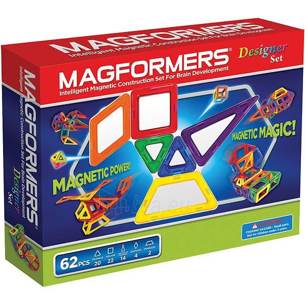 MAGFORMERS Designer set Paveikslėlis 1 iš 7 30005401680