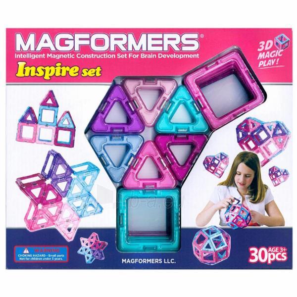 MAGFORMERS Inspire set 30 Paveikslėlis 1 iš 1 30005401716