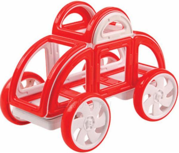 MAGFORMERS My First Buggy 14P-Red Paveikslėlis 1 iš 2 30005401708