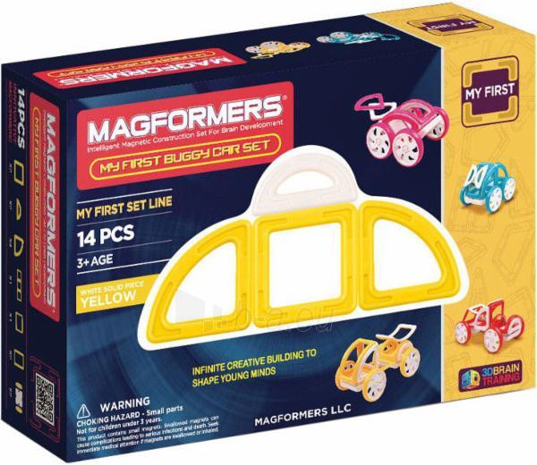 MAGFORMERS My First Buggy 14P-Yellow Paveikslėlis 1 iš 2 30005401707