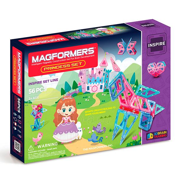 MAGFORMERS Princess set Paveikslėlis 1 iš 7 30005401703