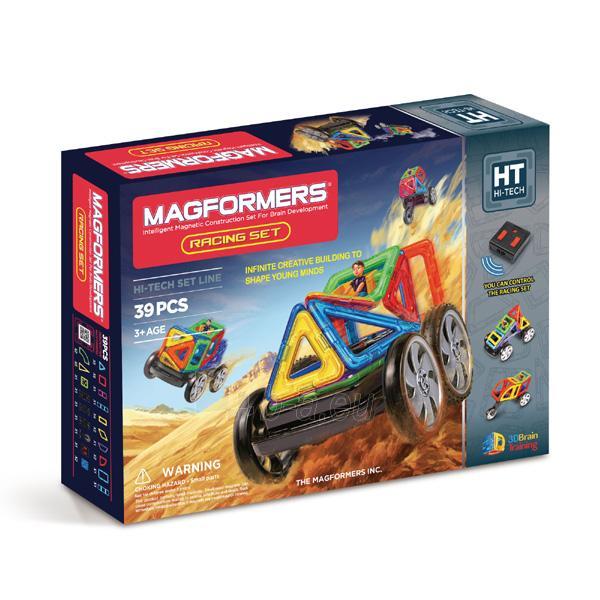 MAGFORMERS Racing set Paveikslėlis 1 iš 5 30005401701