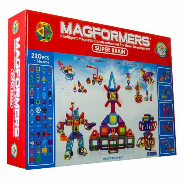 MAGFORMERS Super Brain Up set Paveikslėlis 1 iš 1 30005401685